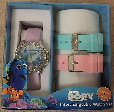 Disney Finding Dory Interchangeable Children's Wrist Watch Brand New In Box