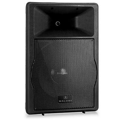 "15"" ACTIVE STAGE MONITOR ABS 750W RMS 2x MIC KARAOKE PA SPEAKER DJ DISCO PARTY"