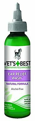 Vets Best Vet's Best Pet Ear Relief Wash, 4-Ounce