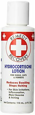 Cardinal Remedy Plus Recovery Hydrocortisone Lotion .05-Percent for Dogs 4-Ounce