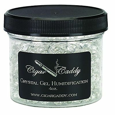 Cigar Caddy Quality Importers Large Crystals Gel Humidification, 4-Ounce Jar