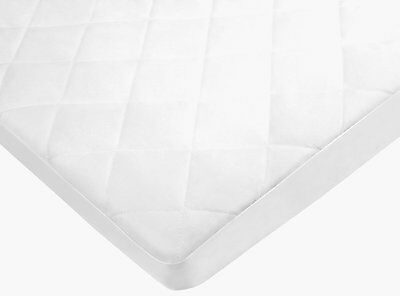 Pexils Premium Quilted Waterproof Crib Mattress Pad Protector Fitted - For Size