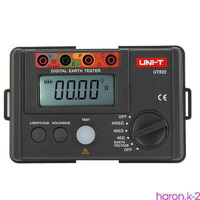Digital Insulation Resistance Testers Earth Ground Resistance Tester UNI-T UT522