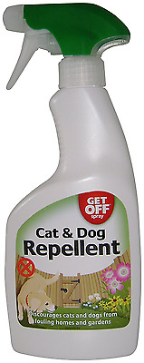 *BEST Dog & Cat Repellent Spray, Stop Fouling Pooping Messing Home & Garden Etc