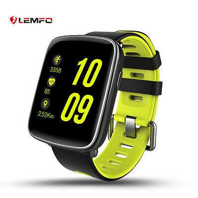 Lemfo GV68 Bluetooth IP68 Impermeable Buceo Reloj Inteligente Para Android iOS