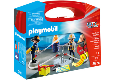 5651 Playmobil - Fire Rescue Carry Case