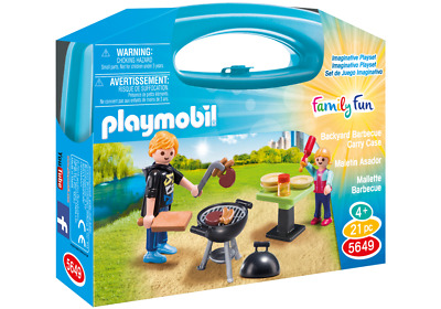 5649 Playmobil - Carrying Case Small Barbecue