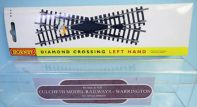Hornby 'oo' Gauge R614 Left Hand Diamond Crossing Point *new & Boxed*