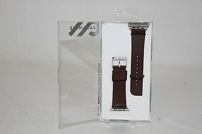 NEW Genuine Signature Case Mate Tobacco Band For Apple Watch 42mm Brown CM032795