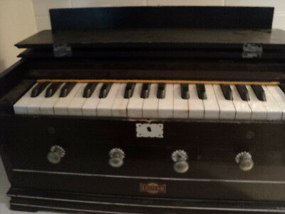 Antique Eastern Company travelling box organ