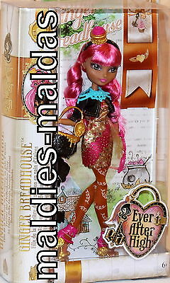 Ever After High Ginger Breadhouse CDH54 NEU/OVP Puppe