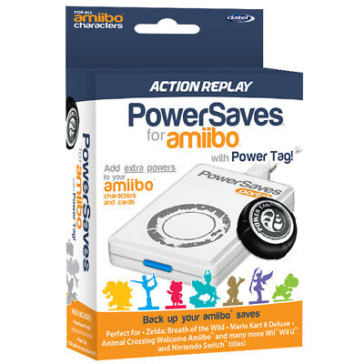 PowerSaves + PowerTag for Amiibo perfect for Zelda BOTW, Animal Crossing, Mario