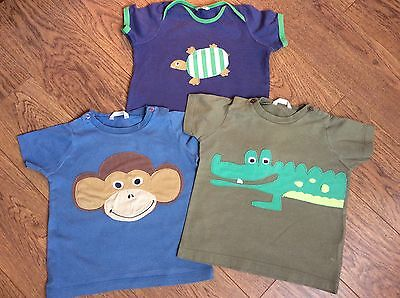 Boys Baby  Boden Collection Of T-shirts Age 18-24 Months