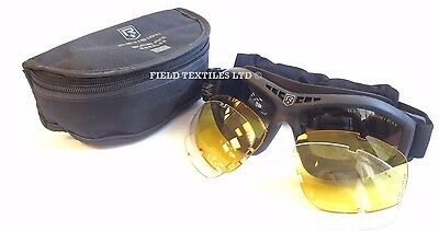 REVISION - Bullet Ant BLACK Tactical Goggles - NEW - Protection/British/Army