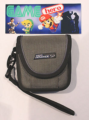 Official Nintendo Gameboy Advance Sp Gba Protective Case Grey Game Boy Gray (2)