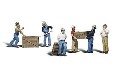 Woodland Scenics / SCENIC ACCENTS #2729 O SCALE - DOCK WORKERS - NEW A2729