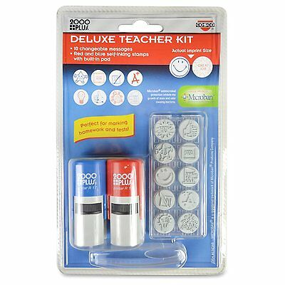 Teacher Kit - Consolidated Stamp Cosco Message Stamp Deluxe Teacher Kit