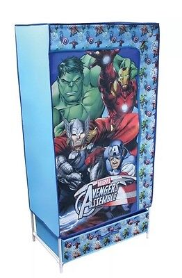 New Kids Children Stylish Canvas Wardrobe Marvel Avengers Kids Wardrobe
