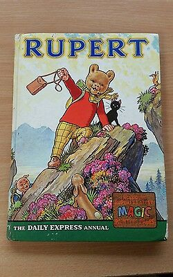 Rupert The Bear The Daily Express Annual 1964