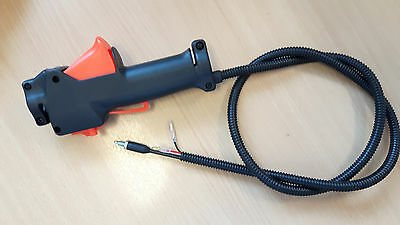 Throttle Trigger Handle Switch For Various Strimmer Trimmer Brush Cutter