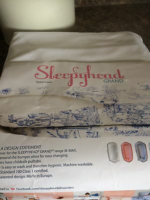 Sleepyhead Grand Cover Pristine White  8 to 36 Months new in bag