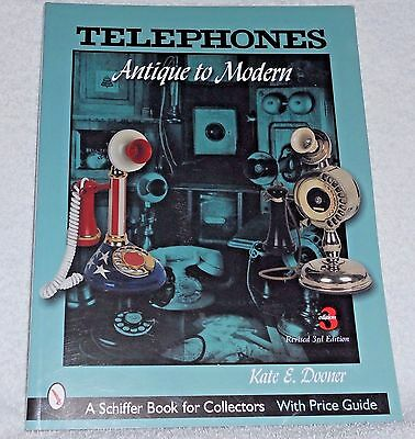 Telephones: Antique To Modern - 3Rd Ed. – Schiffer Books – Price Guide – 2005 -
