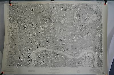 Old Ordnance Survey Map Sheet of London