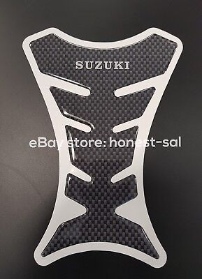 Resin Motorcycle Tank Pad Suzuki Bandit GSF GSXR in carbon look - ultra sticky