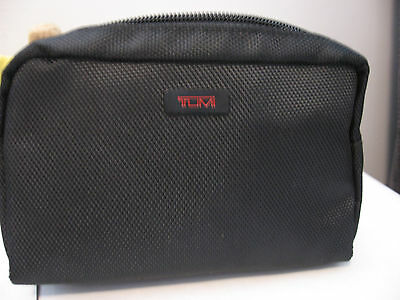 TUMI for DELTA Airline nylon Travel Bag Amenity Kit First Class with accessories
