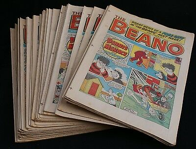 Forty issues of The Beano Comic from 1987