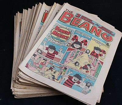 Forty Four issues of The Beano Comic from 1986