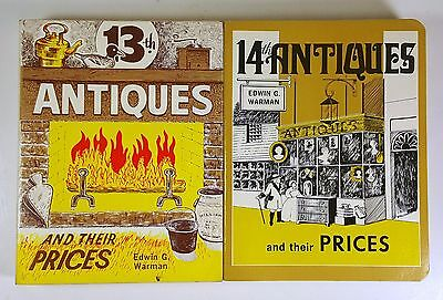 Books on Collecting 13th & 14th ANTIQUES AND THEIR PRICES EDWIN WARMAN 1976
