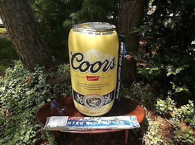 Coors Pool Light Beer Bar Restaurant Collectible Advertising Inflatables Ad Can