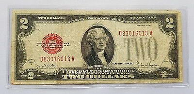 1928G $2 Small Size United States Note (Legal Tender) Circulated Currency