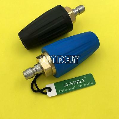 "1/4"" Quick Connect High Pressure Washer Cleaner Spray Turbo Nozzle Tip 1.0-4.0"