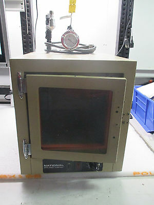 Napco National Appliance Company 5831-6 Vacuum Oven * Working / Missing Handle