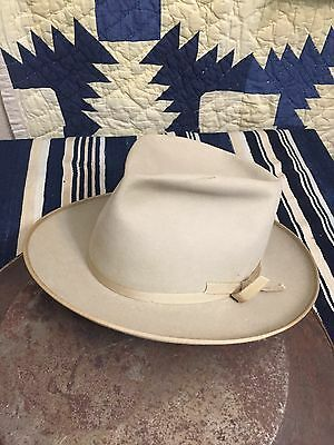 Vintage 1950s-60s Stetson Stratoliner fedora Size 7 1/4 Open Road