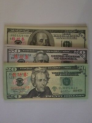 Fake Dollar Play Paper Money $4,250  FAST SHIPPING