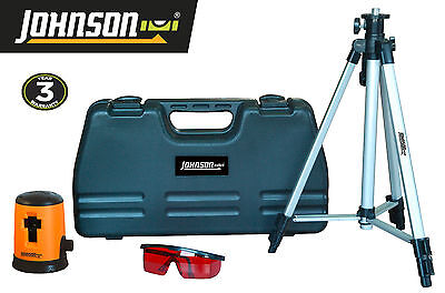 Johnson Self-Leveling Cross-Line Laser Level Kit