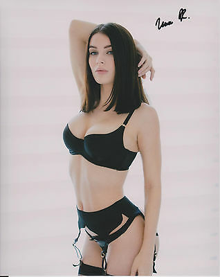 LANA RHOADES Adult Video Star SIGNED 8X10 Photo h