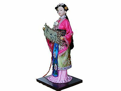 "Ancient Chinese Asian Doll Decoration Doll ""A Dream of Red Chamber"" -Jia Xichun"