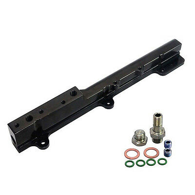 Black High Fuel Rail Fit For Honda Acura B16 B18 LS GSR Integra B Series Engines