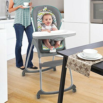 Baby High Chair 3 in 1 Feeding Toddler Booster Seat Infant Convertible Highchair