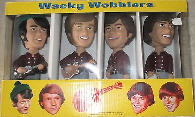 Wacky Wobblers The Monkees!!  Set Of 4 - New-In-Box!!!