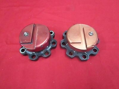 Pair Of Cambered Wide Five Drive Flanges