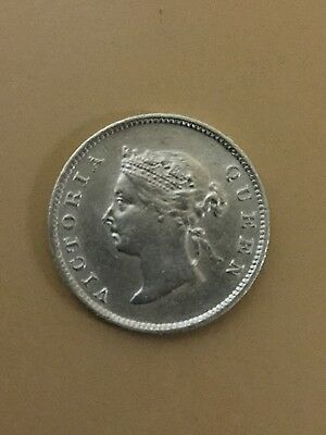 1900 British Guiana West Indies 4 Pence Silver