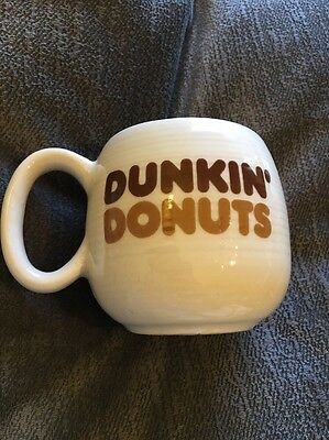 Vintage Dunkin Donuts The Big One Coffee Cup Mug Ceramic 10oz