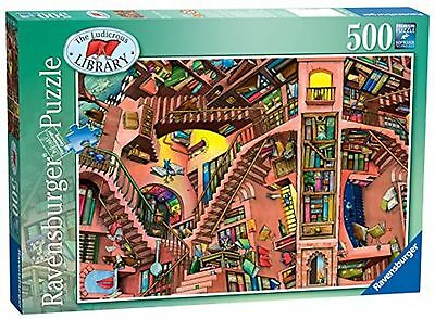 Ravensburger The Ludicrous Library Jigsaw Puzzle (500-Piece)