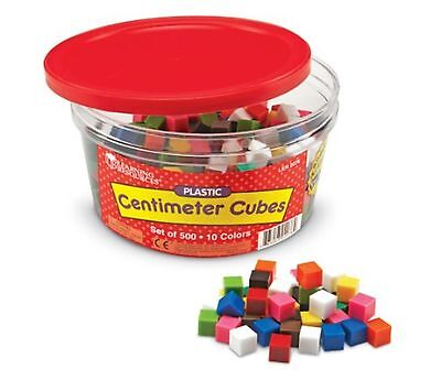 Learning Resources Centimeter Cubes, Set of 500