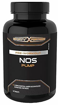 Body Fortress NOS Pump Tablets, 50 Count